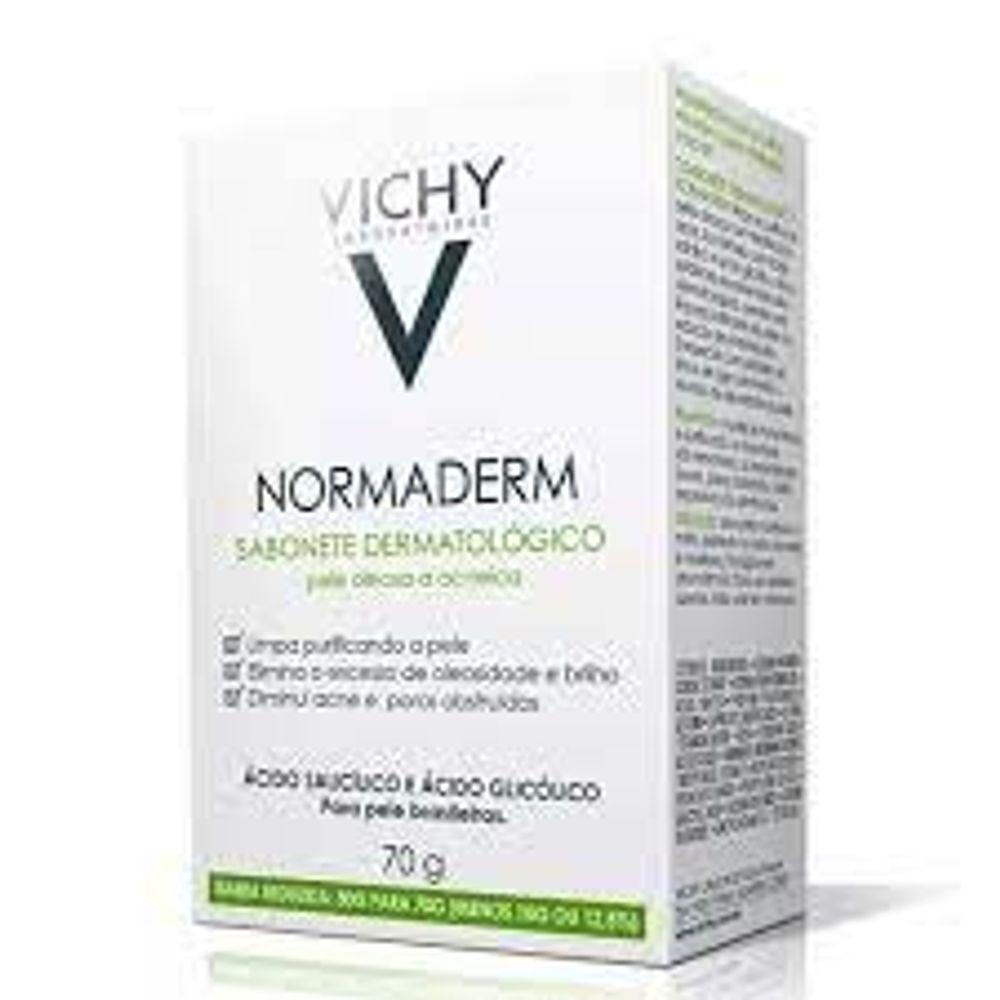normaderm-vichy-sabonete-70g-unicdrogaria