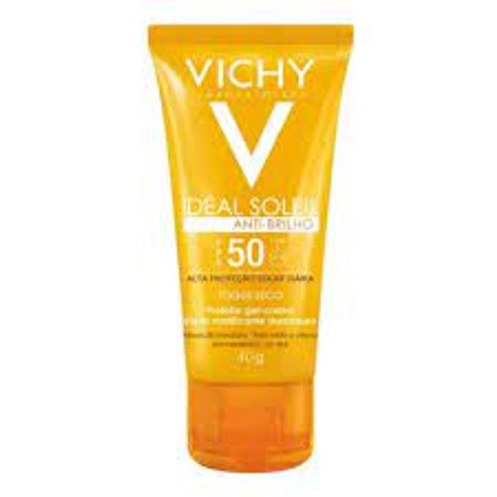 ideal-soleil-fps-50-antibrilho-vichy-40g-unicdrogaria